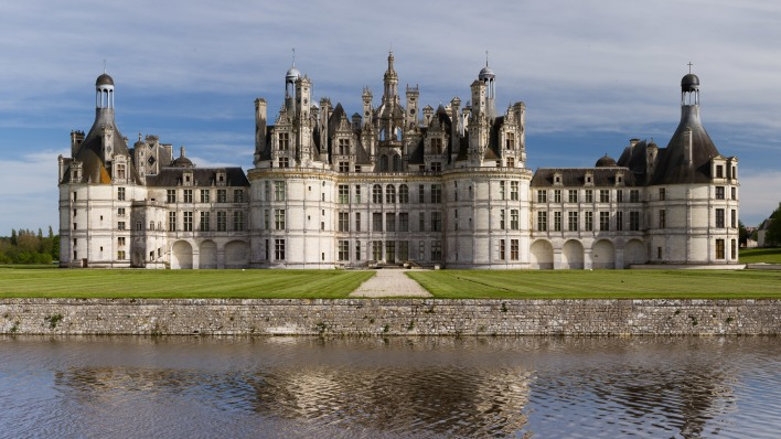 страны архитектура Замок Шамбор country architecture Castle Chambord