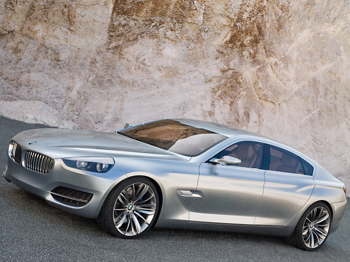 Bmw concept cs side left