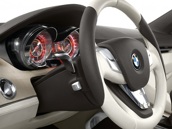 Bmw concept cs dashboard