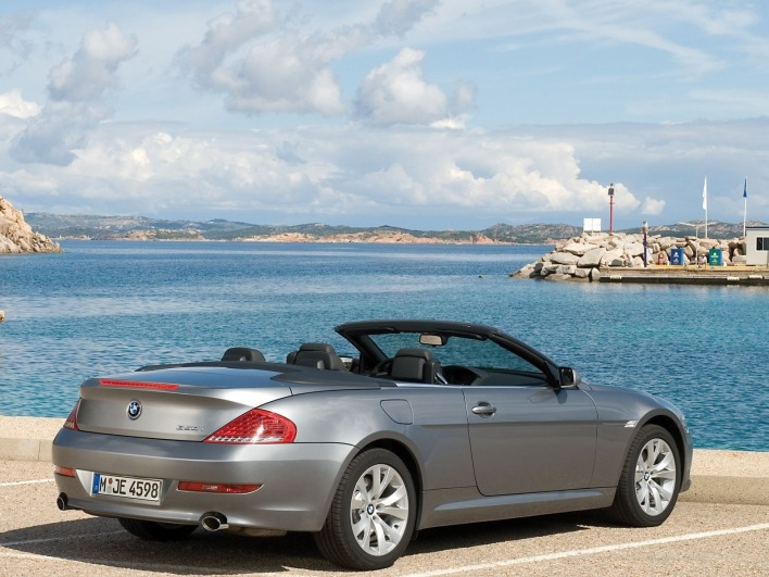 Bmw 650i coupe sea