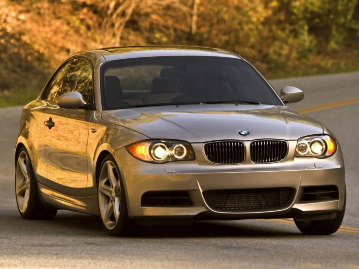 Bmw 1 coupe e82 135i 2008 usa front