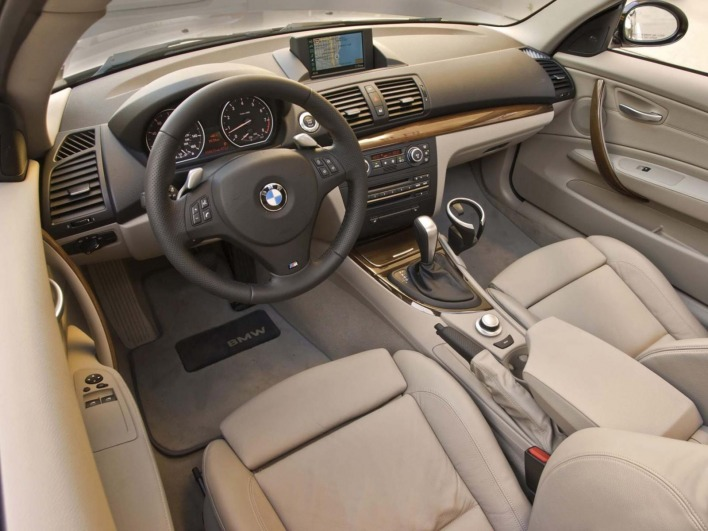 Bmw 1 coupe e82 135i 2008 usa interior