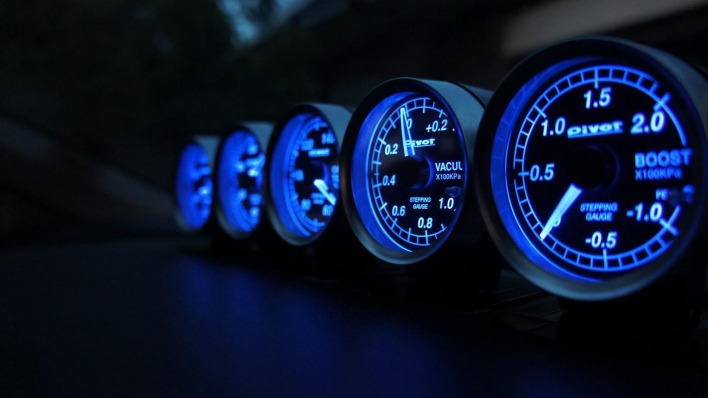 автомобили спидометры свет синий cars speedometers light blue
