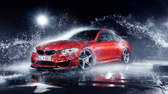 бмв вода брызги BMW water spray