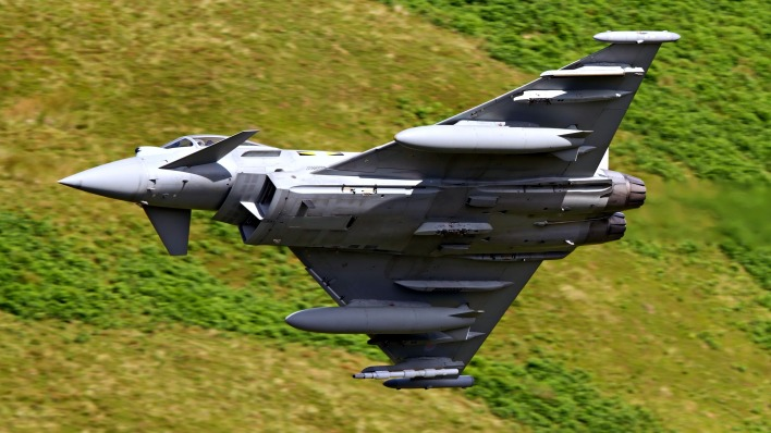 авиация самолет Eurofighter Typhoon aviation the plane