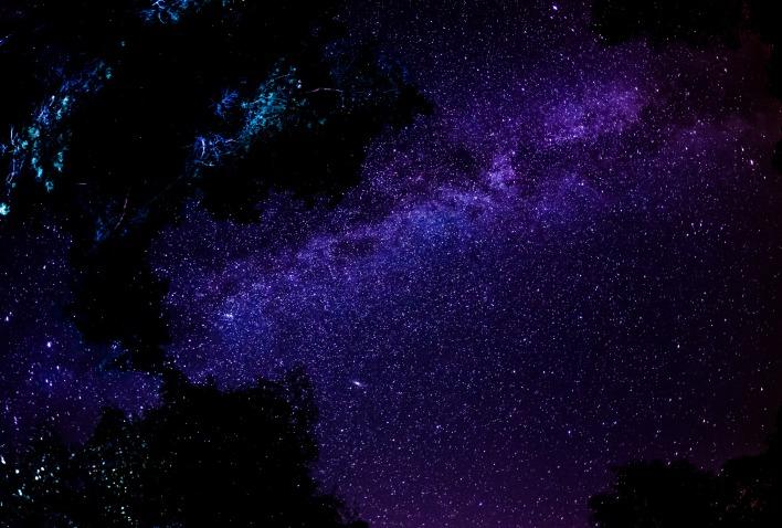 звездное небо обои на рабочий стол 1920х1080 № 358913 загрузить