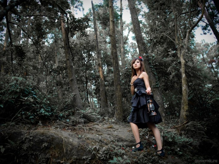 в лесу девки фото