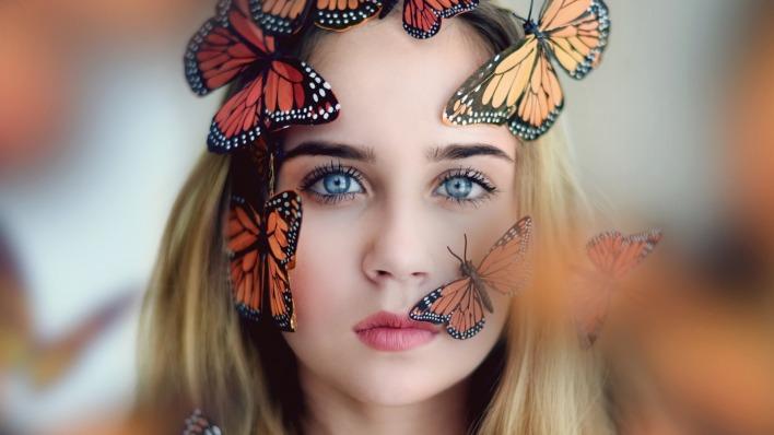 Девушка симбиот трансформация