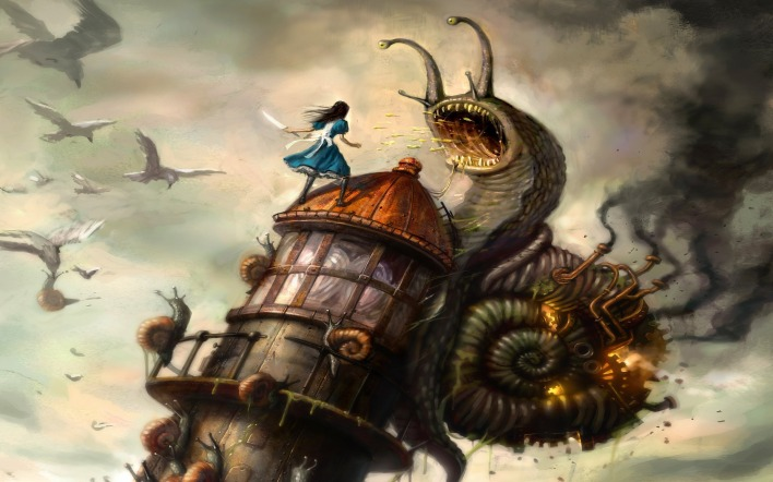 рисунок alice madness returns