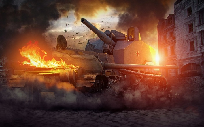 waffentrager auf e100 World of Tanks мир танков игра