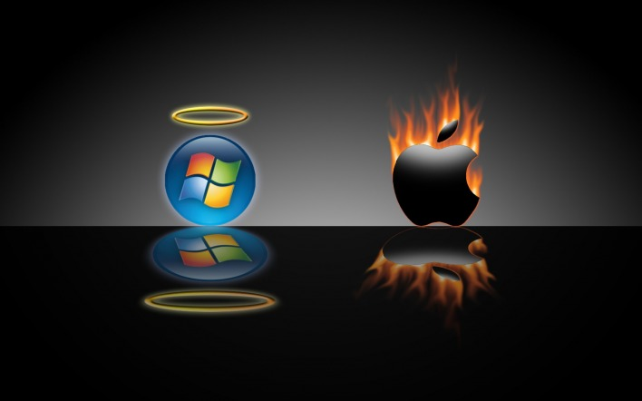 Windows против apple