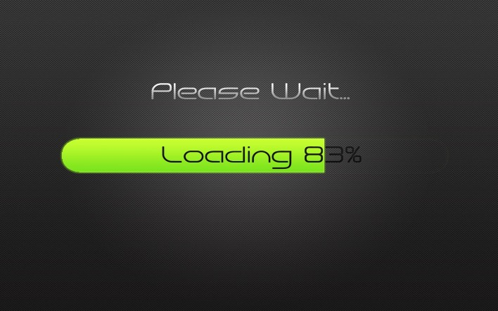 Please Wait loading