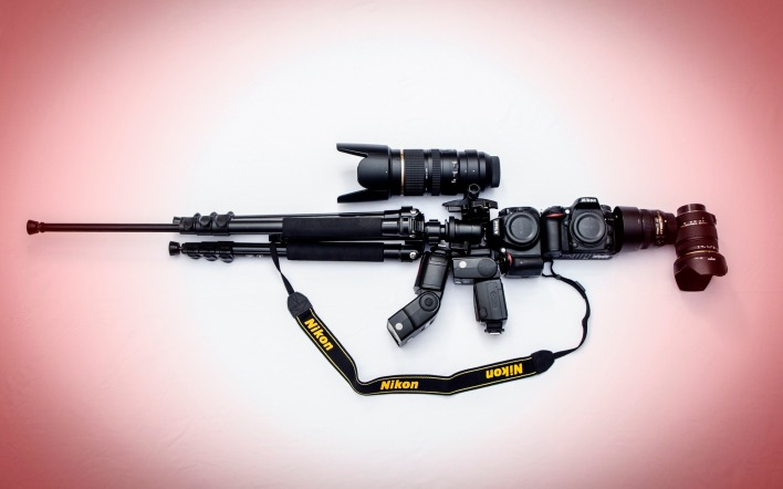 техника Nikon M16 оружие technique weapons