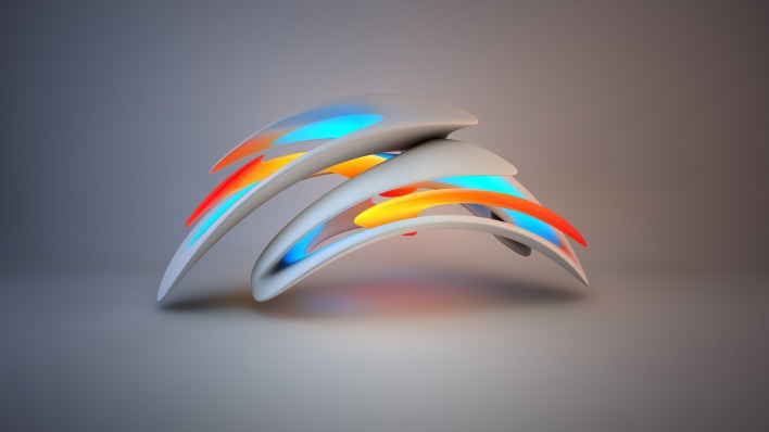 графика абстракция 3D graphics abstraction