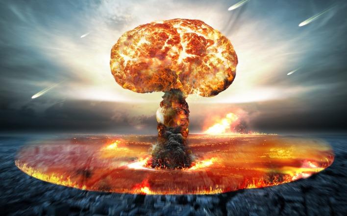 фото взрыва ядерной бомбы с земли