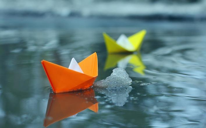 Кораблики  пускать