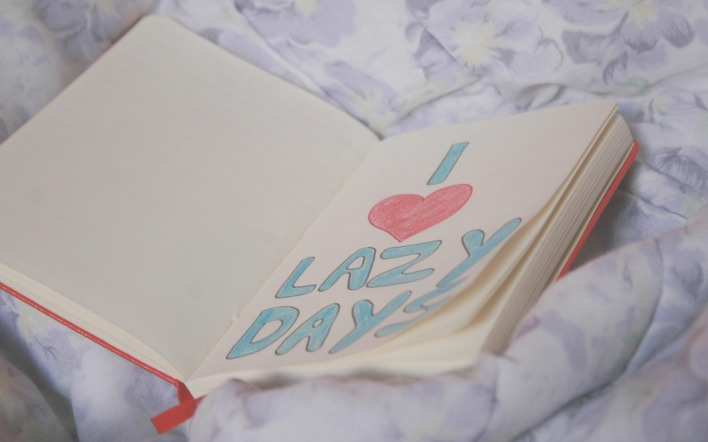 I love lazy days