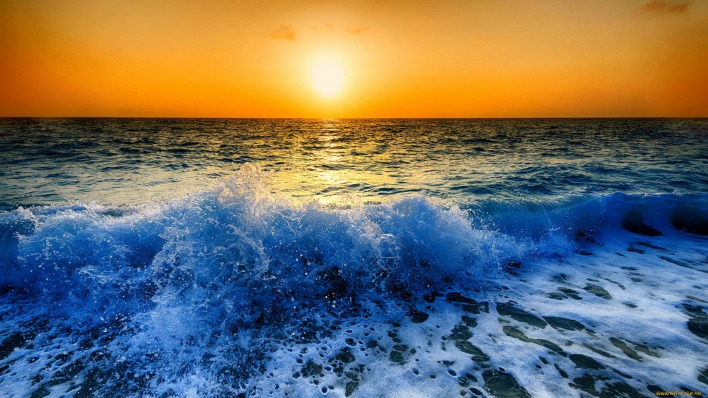 природа вода море горизонт солнце nature water sea horizon the sun