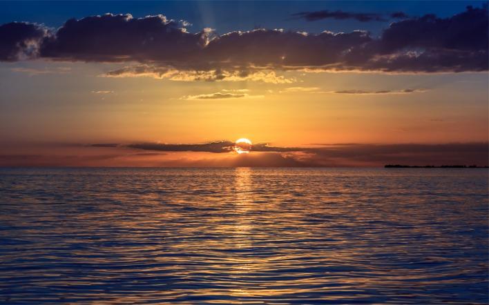 Картинки на рабочий стол рассвет на море