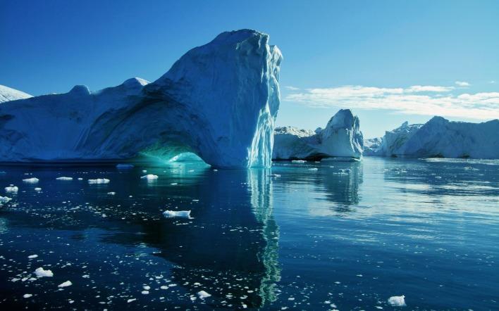 Таящий ледник