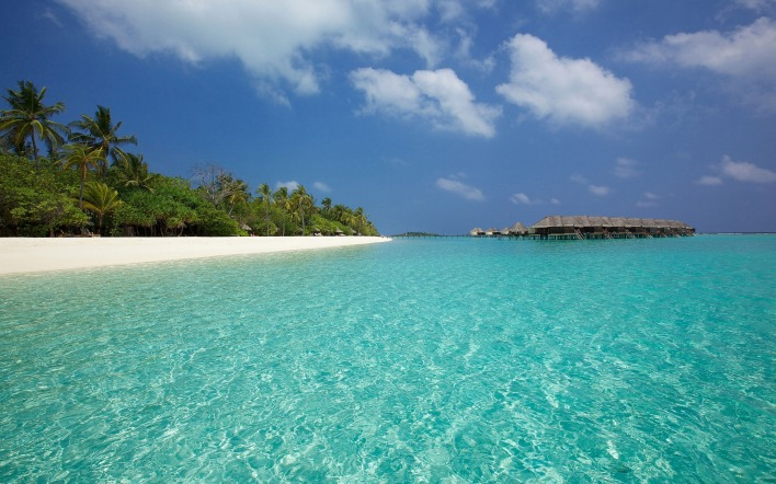 мальдивы берег the Maldives shore