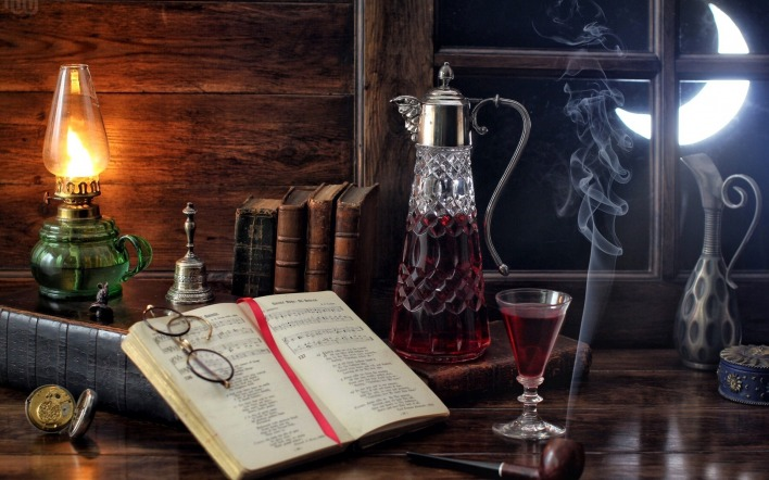 книга дым лампа book smoke lamp