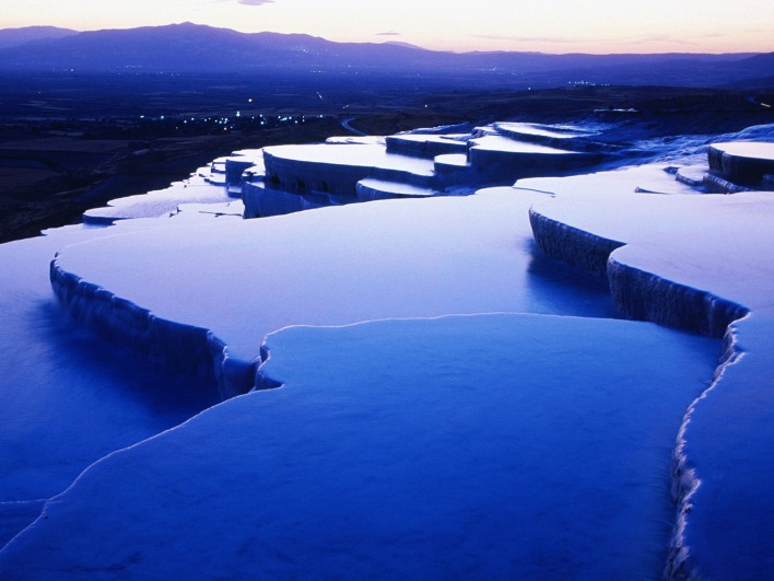 Thermal Springs, Pamukkale, Turkey