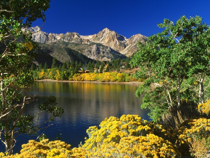 Twin Lakes, Toiyabe National Forest, California
