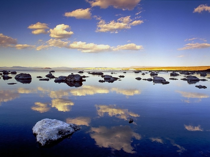 Liquid Mirror, Mono Lake, California