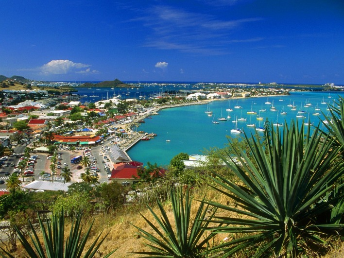 Marigot Bay, Saint Martin, French West Indies