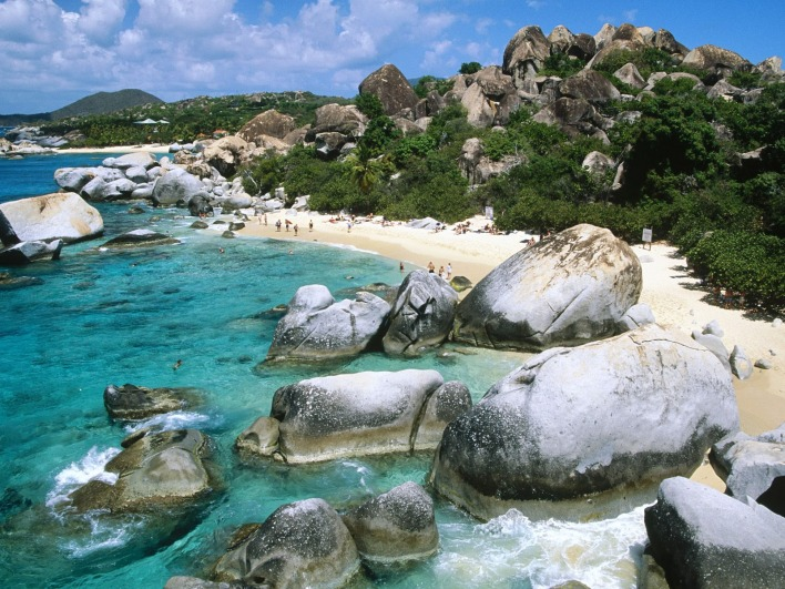 The Baths, Virgin Gorda Island, British Virgin Islands, West Indies