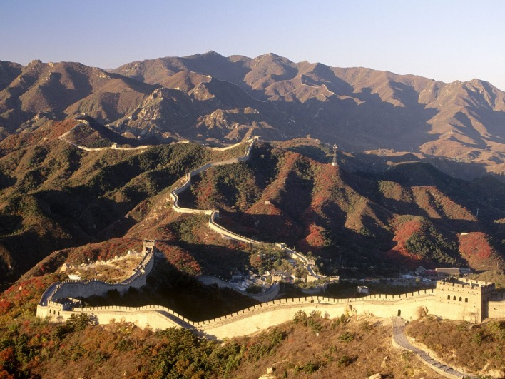 Great Wall of China at Badaling, China