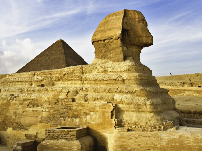 The Sphinx, Giza, Near Cairo, Egypt