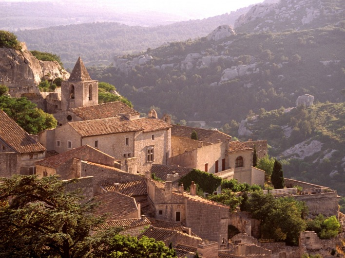 Village of Les Baux, France