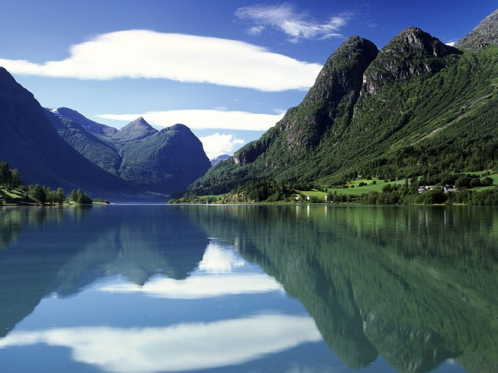 Oldenvatnet, Norway