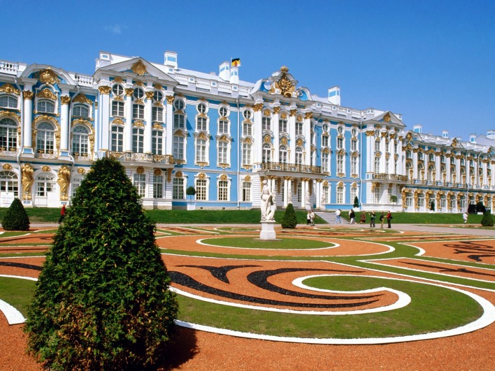 Catherine Palace, St Petersburg Russia