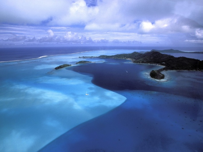 Blue Variation, Bora Bora, French Polynesia