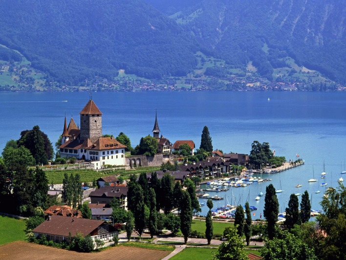 Lake Thun, Spiez, Switzerland