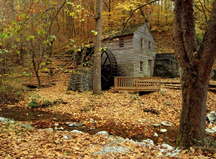Grist Mill, Norris Dam State Park, Tennessee
