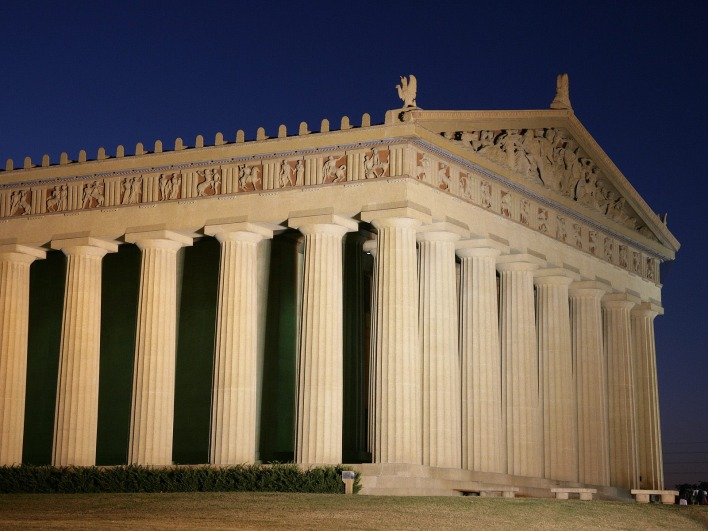The Parthenon, Centennial Park, Nashville, Tennessee