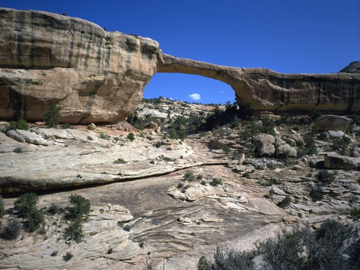 _Owachomo Bridge, Natural Bridges National Monument, Utah