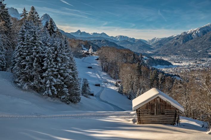 """Результат пошуку зображень за запитом """"хата в горах зима"""""""