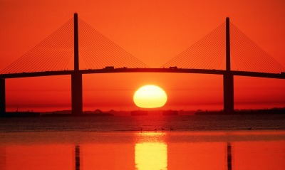 Sunshine Skyway Bridge, Tampa Bay, Florida