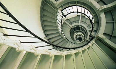 Spiral Staircase, Ponce de Leon Inlet Lighthouse, Florida