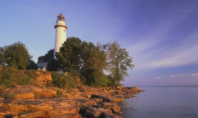Pointe Aux Barques Lighthouse, Lake Huron, Michigan