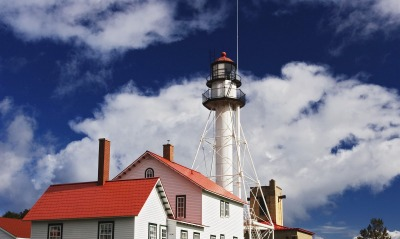 Whitefish Point, Along Lake Superior, Near Paradise, Michigan