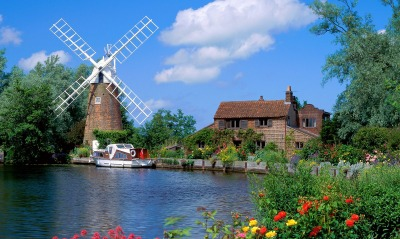 Hunsett Mill, Norfolk, England
