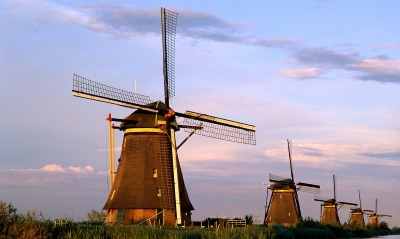 Windmills, Kinderdijk, Netherlands