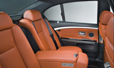 Bmw 7 special edition exclusive back seats