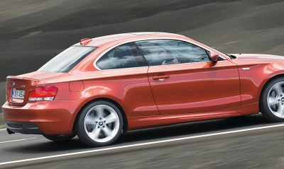 Bmw 135i coupe highway speed